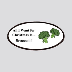 Christmas Broccoli Patches