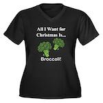 Christmas Broccoli Plus Size T-Shirt