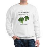 Christmas Broccoli Sweatshirt