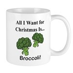 Christmas Broccoli Mugs