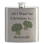 Christmas Broccoli Flask