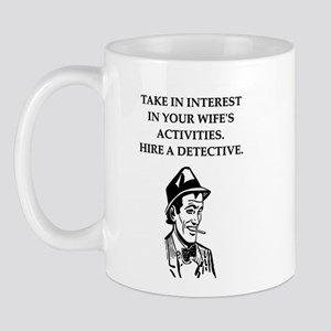 detective gifts and t-shirts Mug