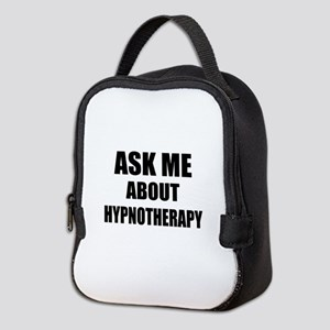 Ask me about Hypnotherapy Neoprene Lunch Bag