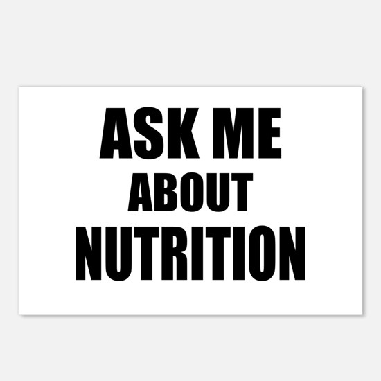 Ask me about Nutrition Postcards (Package of 8)