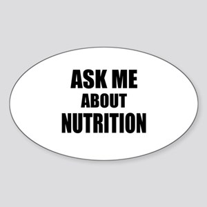 Ask me about Nutrition Sticker