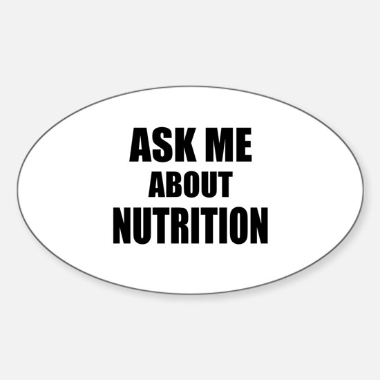 Ask me about Nutrition Decal