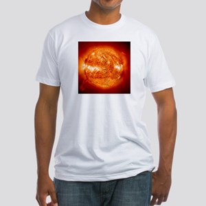 Hot Stuff Fitted Dad's Christmas Gift T-Shirt