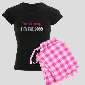 I'm The Boss Women's Dark Pajamas