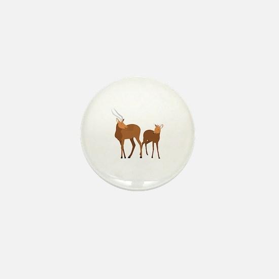 Unique Gnu Mini Button