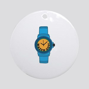 Watch Out Ornament (Round)