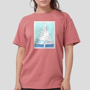 SAILBOAT DIAGRAM (technical design) T-Shirt