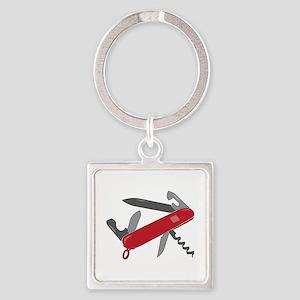 Swiss Army Knife Keychains
