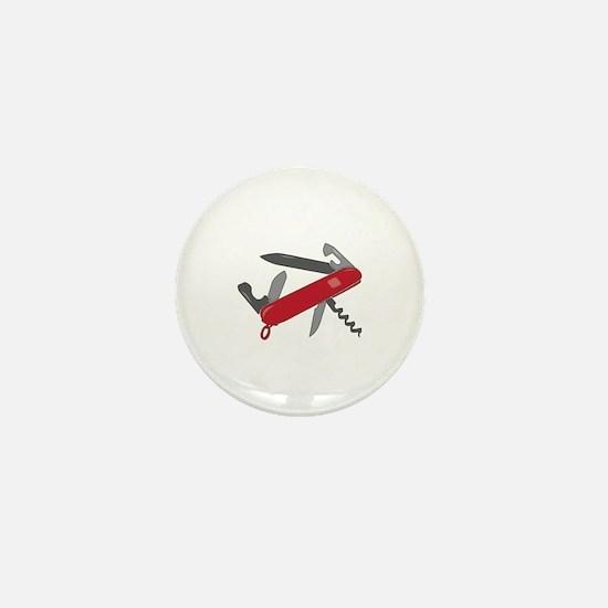 Swiss Army Knife Mini Button
