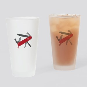 Swiss Army Knife Drinking Glass