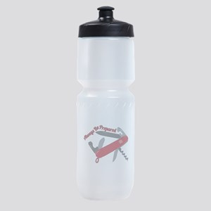 Always Be Prepared Sports Bottle