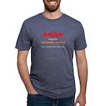 Racism=prej+power - Mens Tri-Blend T-Shirt