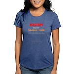Racism=prej+power - Womens Tri-Blend T-Shirt