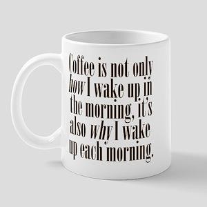 Coffee Morning Wake Up Mug