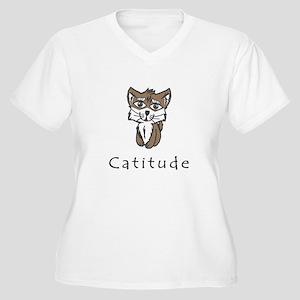 Catitude Plus Size T-Shirt