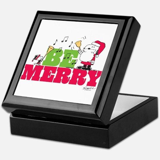 Snoopy: Be Merry Keepsake Box