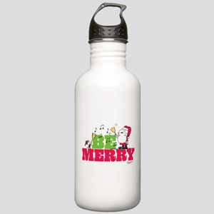 Snoopy: Be Merry Stainless Water Bottle 1.0L