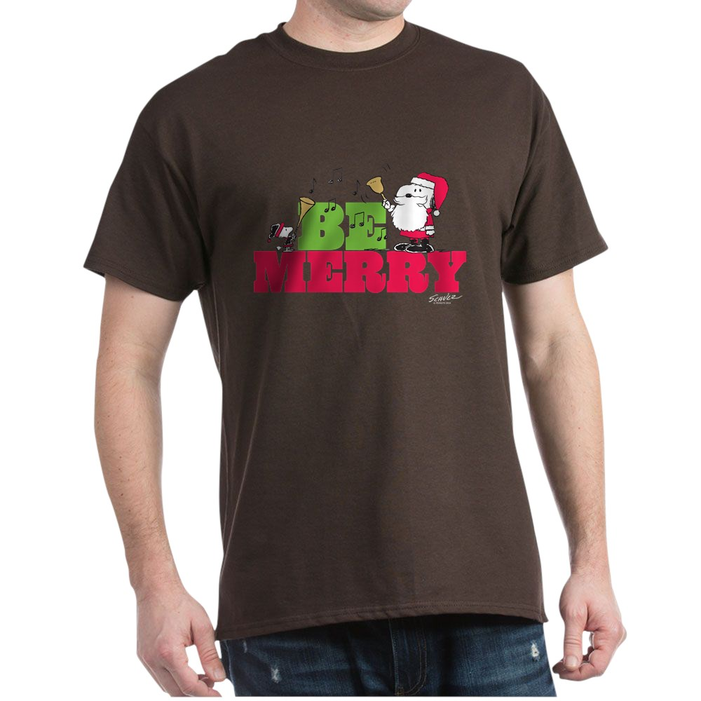 CafePress-Snoopy-Be-Merry-Dark-T-Shirt-100-Cotton-T-Shirt-1351490031 thumbnail 68