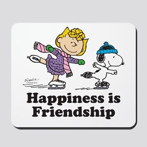 Happiness is Friendship Mousepad