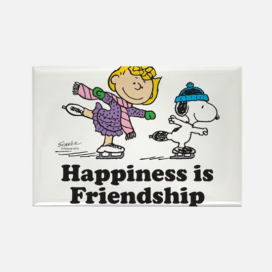 Happiness is Friendship Rectangle Magnet