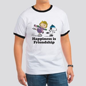 Happiness is Friendship Ringer T