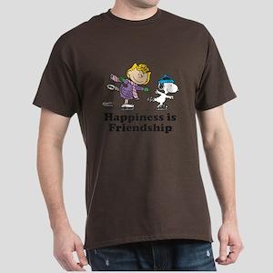 Happiness is Friendship Dark T-Shirt