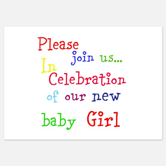 Personalize Boy/Girl Join Us Invitations
