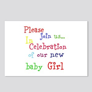 Personalize Boy/Girl Join Postcards (Package of 8)