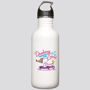Snoopy and Woodstock D Stainless Water Bottle 1.0L