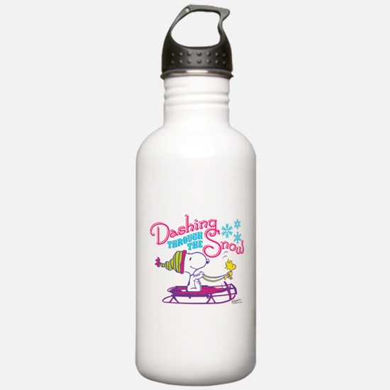 Snoopy and Woodstock D Water Bottle