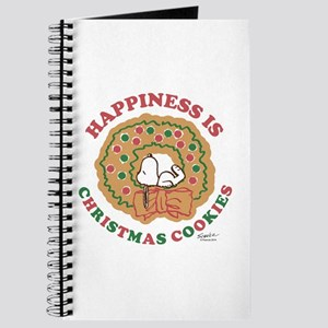 Snoopy:Hapiness is Christmas Cookies Journal