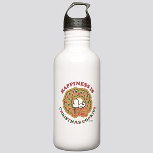 Snoopy:Hapiness is Chr Stainless Water Bottle 1.0L