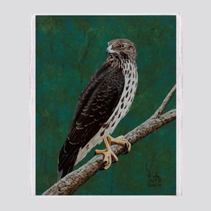 Cooper's Hawk: Throw Blanket