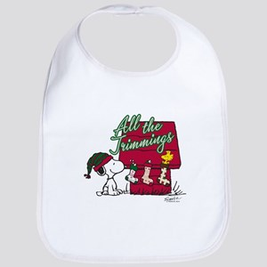 Snoopy: All the Trimmings Bib