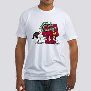 Snoopy: All the Trimmings Fitted T-Shirt