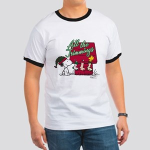 Snoopy: All the Trimmings Ringer T
