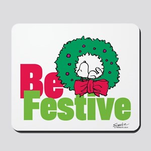 Snoopy: Be Festive Mousepad