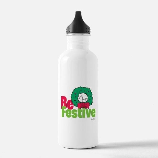 Snoopy: Be Festive Water Bottle