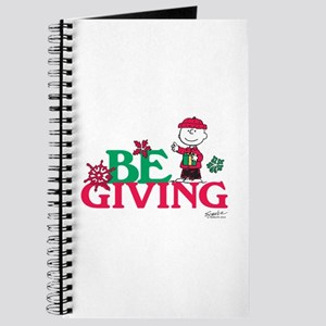 Charlie Brown: Be Giving Journal