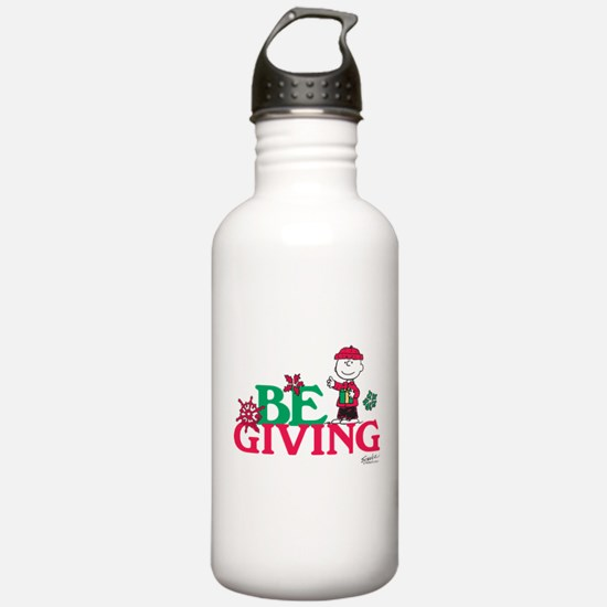Charlie Brown: Be Givi Water Bottle