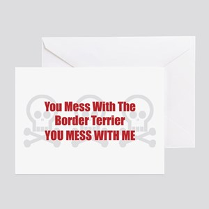 Mess With Terrier Greeting Cards (Pk of 10)