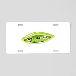 Sweet Pea Vegetbale Aluminum License Plate