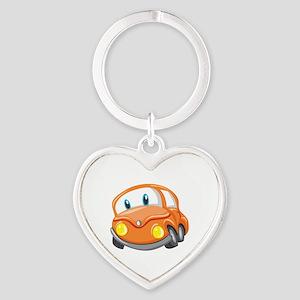 Toy Orange Car Keychains