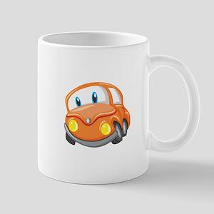 Toy Orange Car Mugs