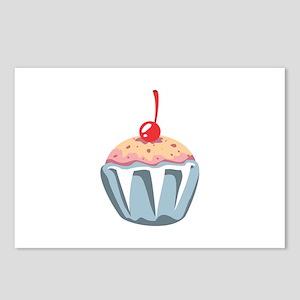 Cupcake Dessert Food Postcards (Package of 8)