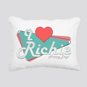 I Heart Richie Rectangular Canvas Pillow